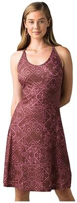 Prana Opal Dress (Chalkboard Tiles) Women's Dress