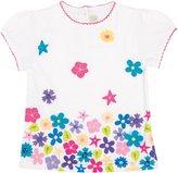 Jo-Jo JoJo Maman Bebe Wildflower T Shirt (Baby) - White-18-24 Months