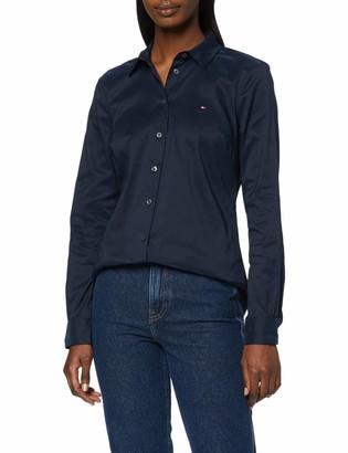 Tommy Hilfiger Women's TH Essential Shirt LS W1