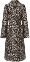 Biba Abstract Leopard Belted Coat