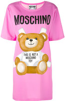 Moschino toy bear print t-shirt dress - women - Rayon/other fibers - 38