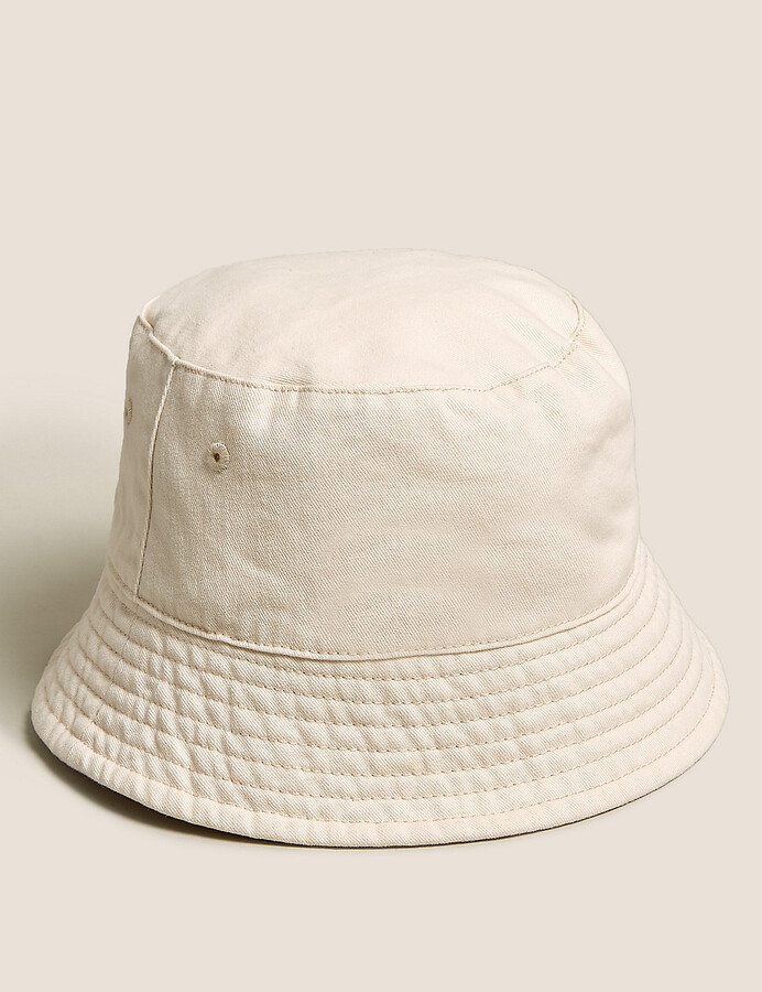 Thumbnail for your product : Marks and Spencer Kids' Cotton Plain Sun Hat (6-14 Yrs)