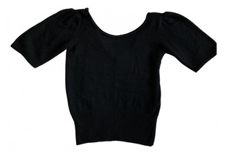 Prada Black Cashmere Knitwear