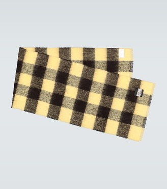 Our Legacy Checked blanket scarf