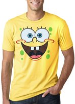 Animation Shops SpongeBob Face Adult T-Shirt