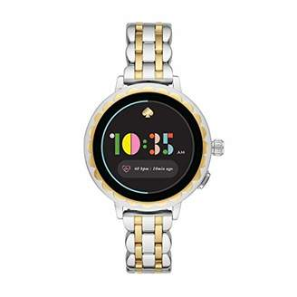 Kate Spade Women's Scallop 2 Touch-Screen Watch with Stainless Steel Strap