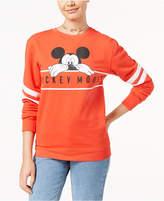 Hybrid Juniors' Disney Chill Mickey Graphic Sweatshirt