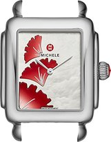 Michele Women's Swiss Quartz Stainless Steel Watch, Color:Silver-Toned (Model: MW06V00A0093)