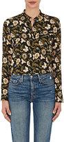 A.L.C. Women's Flower-Print Crepe Blouse