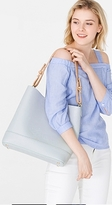 Esprit Hobo bag in faux leather + an effect strap