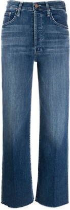 Mother Groovin high-waisted jeans