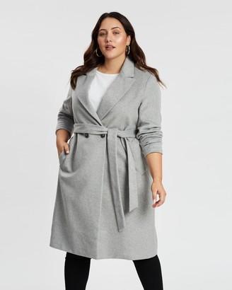 Atmos & Here Amelia Wool-Blend Coat