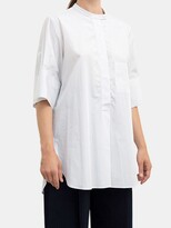 Thumbnail for your product : Studio Nicholson Malawi Oversized Cotton Top