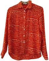 Stella McCartney Stella Mc Cartney Orange Silk Tops