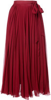 Carolina Herrera midi pleated skirt