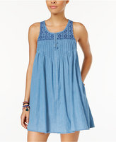 Volcom Juniors' Chambray Hey Dress