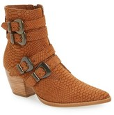 Matisse Women's 'Harvey' Embossed Buckle Boot