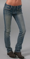 Savoy Skinny Jeans with Classic Rise