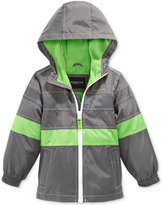 London Fog Hooded Colorblocked Jacket, Toddler & Little Boys (2T-7)