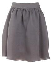 Armani Jeans Women's Grey Silk Skirt.