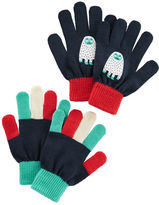 Osh Kosh 2-Pack Snow Monster Gloves