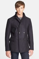Billy Reid Men's 'Bond' Wool Blend Peacoat