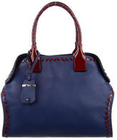 Tod's Bi-Color Cape Tote