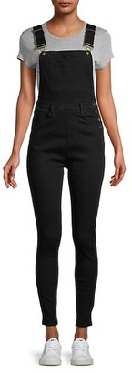 WeWoreWhat Cotton-Blend Skinny Overalls