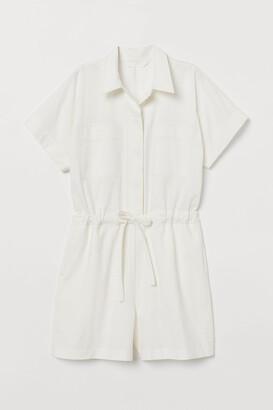 H&M Cotton playsuit