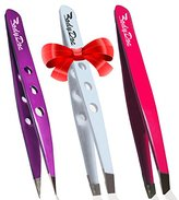 Body Doc Tweezers - Professional and Surgical Quality - Great for General Use and Eyebrow Hair Removal