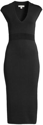 MICHAEL Michael Kors V-Neck Bodycon Dress