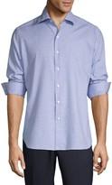 Zanella Checkered Long-Sleeve Shirt