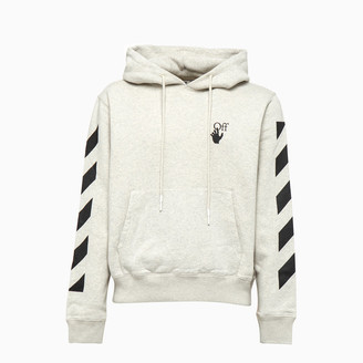 Off-White Diag Agreement Sweatshirt Ombb034f20fle009
