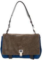 Proenza Schouler Tricolor Courier Bag