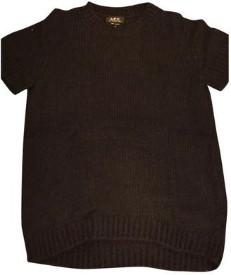 A.P.C. Navy Wool Knitwear for Women