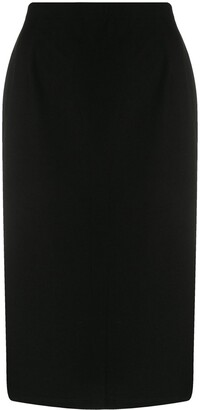 Eileen Fisher High Waisted Pencil Skirt