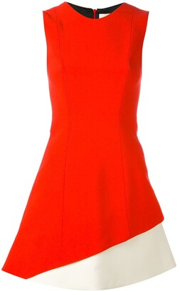 Fausto Puglisi colour-block dress