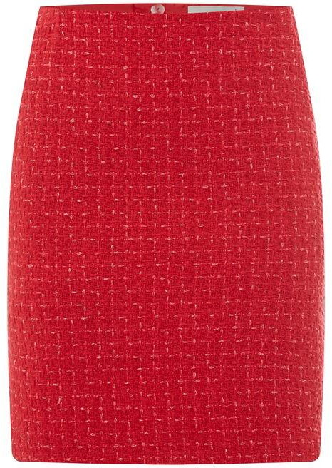Oui Women's Tweed Skirt