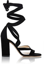 Barneys New York WOMEN'S ZEA ANKLE-WRAP SANDALS