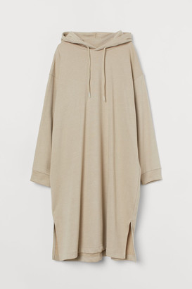 H&M Hooded Dress - Brown