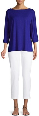 Eileen Fisher Relaxed Bateau Top