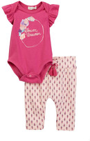 Jessica Simpson Bodysuit & Pant Set (Baby Girls)