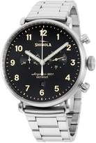 Shinola Men's Steel Bracelet & Case Quartz Analog Watch 20018334