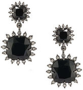 Carolee Gotham Hematite-Tone Geometric Drop Earrings
