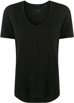 ATM Anthony Thomas Melillo short-sleeve flared T-shirt