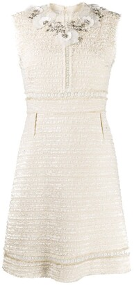 Giambattista Valli Beaded Tweed Dress