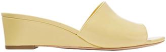 Loeffler Randall Patent-leather Wedge Sandals