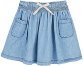 Emile et Ida Cotton Chambray Skirt