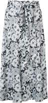 Lisa Marie Fernandez floral print full skirt