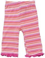 Kickee Pants Print Ruffle Pants (Baby) - Sunset Stripe-0-3 Months